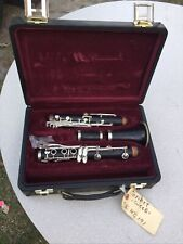 Buffet Crampon Clarinet - Wood, Silver plated - Used