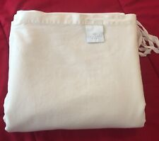 Scandia Home Queen Duvet Cover-Ivory-100% Egyptian Cotton-Pure Luxury