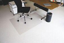 Gut Erhalten Kunststoff Klar 75x120 Cm Groß Unterlage Für Bürodrehstuhl