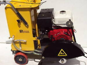 """NEW Packer Brothers 16"""" walk-behind concrete saw Honda"""