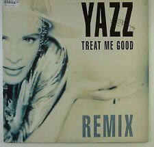 "12"" Maxi - Yazz - Treat Me Good (Remix) - k5871 - washed & cleaned"