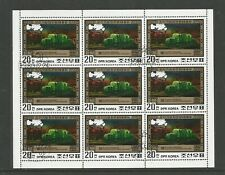 Korea Centenary of First Electric Train Sheet 1980 SG N2033 CTO