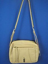 KELSI DAGGER Sand Beige Pebbled Leather NWT Shoulder Bag