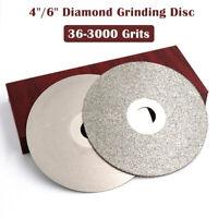 100/150mm Diamond Coated Flat Lap Wheel Ceramic Glass Grinding Discs 36-3000GRIT