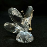 SWAROVSKI SILVER  CRYSTAL BUTTERFLY MINI -  WITHOUT BOX RETIRED  7667 NR 035 00