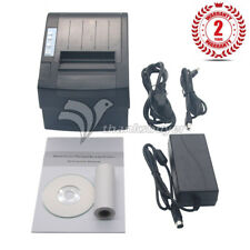 Thermal Receipt Printer 80mm Auto Cutter USB Ethernet Serial 300mm/s #TXXB