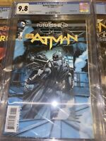 Batman: The New 52 Futures End #1 DC Comics 11/14 CGC 9.8 3D Lenticular Cover