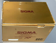 Open Box Sigma Zoom Lens 70-210mm f4-5.6 UC-II For Canon AF Mount & Instructions