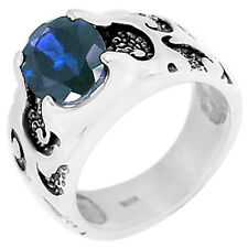 2.4cts Iolite 925 Sterling Silver Ring Jewelry s.6 R5057I-6