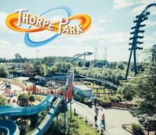 2 X Thorpe Park Resort E Tickets Friday 1st October 2021 Fri 1.10.21 rrp £102