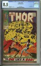 THOR #139 CGC 8.5 OW/WH PAGES