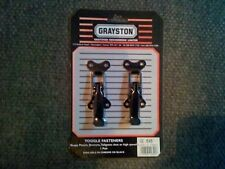 Grayston toggle fasteners for most vehicles