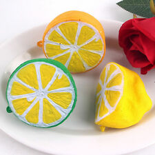 Squishy Fruit Breads Scented Half Lemon Super Slow Rising Cellphone Strap Charms