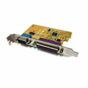 LOT Five X5 Dell Sunix Serial & Parallel Expansion Multi I/O Card MI06469A YCJ65