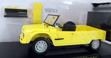 Véhicules miniatures jaunes pour Citroën 1:18
