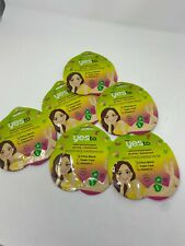 6x Yes to Booty-Ful Paper Mask - Glowing + Retexturized - Citrus - Vitamin C
