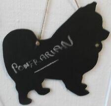 POMERANIAN DOG chalkboard blackboard birthday Christmas gift pet small puppy