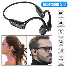 Bone Conduction Headset Wireless Bluetooth 5.0 Open Ear Outdoor Sport Headphones