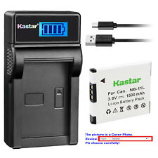 Kastar Battery LCD Charger for Canon NB-11L NB-11LH Canon IXUS 125 HS IXUS 132