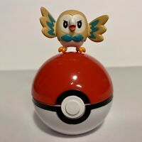 Rowlett TOMY Pokemon Action Toy Figure with Poke Ball - 1.5 Inch
