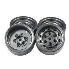 "4PCS Heavy Duty 1.9"" Metal Beadlock Wheel Rims for 1/10 RC TRX-4 SCX10 D90 90046"