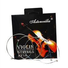 Ersatz Saiten Größe 3/4 & 4/4 Kern Massiver Stahl Violinsaiten Zubehör