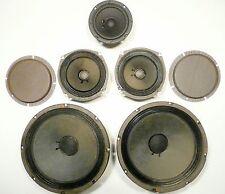 "part: Rowe Jukebox R-82: Entire Speaker System w/ 2-10's / 2-6's /1-5"" & cross"