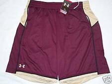 UNDER ARMOUR HEAT GEAR BASKETBALL SHORTS MENS S MAROON