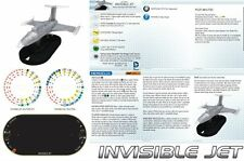 INVISIBLE JET V003 Batman DC HeroClix Vehicle