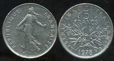 5 francs  SEMEUSE 1978  ( bis )