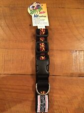 "Quick Dry Spiffy Dog Air Collar Small Black Flames NWT 16""- 20"" Harley Davidson"