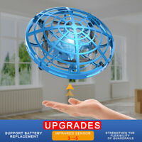 Enhanced Version Induction RC Aircraft LED UFO Hand Flying Balls Drone Toys Gift