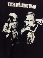 AMC Black Walking Dead Short Sleeve T-shirt - Size S