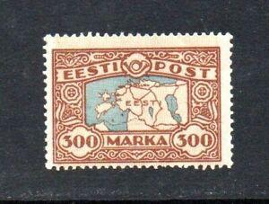MINT STAMP OF ESTONIA, (ESTONIA ON THE WORLD MAP), 1924, ORG.GUM, MNH**.
