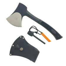 "11"" Tactical Ranger Axe Hatchet With Fire Starter And ABS Hard Cover"