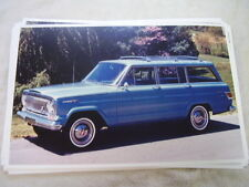 1966 JEEP WAGONEER    COLOR 11 X 17  PHOTO  PICTURE