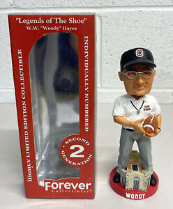"""Woody Hayes Ohio State Buckeyes """"Legends of The Shoe"""" 2nd Generation Bobblehead"""