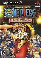 Shonen Jump One Piece Pirates' Carnival (PlayStation 2, PS2) Disc Only - Tested