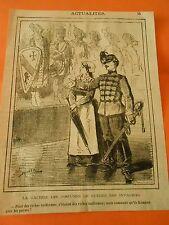 Typo 19ème La Galerie des Costumes de guerres des Invalides