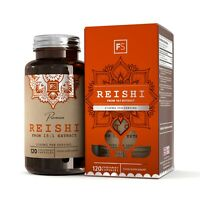 Reishi (2100mg) 120 Capsules | From 15:1 Extract | Immune System Support
