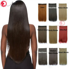 23 Colours Real Thick Full Head Clip In Hair Extensions Long Straight Hairpieces