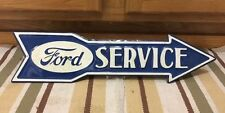 FORD metal Service Arrow Mustang Boss Vintage Look Car Truck Wall Decor Coupe