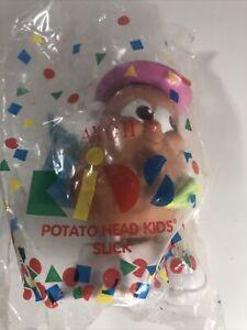 Avon 1993 Vintage Playskool Potato Head Kids- Slick in Pink Bowler Hat New Rare