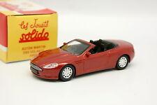 Solido Hachette 1/43 - Aston Martin DB9 Volante Rouge