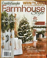 Country Sampler Farmhouse Style Holiday 2020 cottage journal modern living xmas