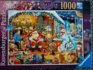 Ravensburger Let's Visit Santa 1000 Pieces Jigsaw Puzzle