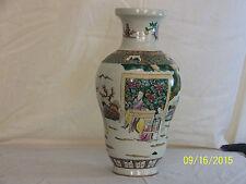 Chinese Qing Dy Kangxi Reign Mark Famille Rose Glaze Porcelain Vase #2