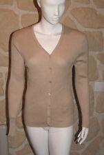 Gilet/cardigan beige taille unique marque Soie pour Soi étiqueté à 52,95€ (ch)