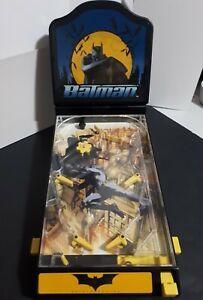 Batman Begins Tabletop Pinball Machine Arcade Game 2004 DC Comics Funrise Toys