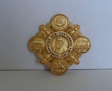 PIONEER JUBILEE GOLD 1897 UTAH LDS MORMON BADGE HISTORICAL COPY